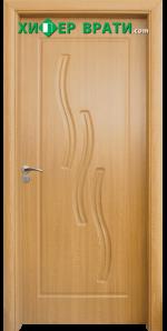 Интериорна врата модел 014-P, цвят Стевъл дъб