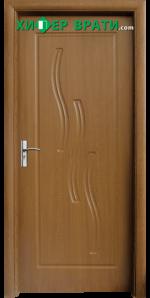 Интериорна врата модел 014-P, цвят Златен дъб