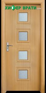 Интериорна врата модел 021, цвят Светъл дъб