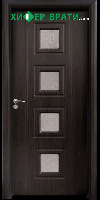 Интериорна врата модел 021, цвят Венге