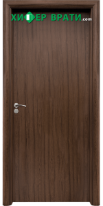 Интериорна врата модел 030, цвят Орех
