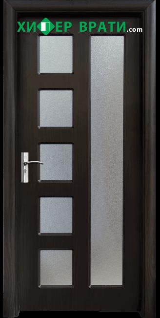 Интериорна врата модел 048, цвят Венге