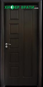Интериорна врата модел 048-P, цвят Венге