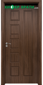 Интериорна врата модел 048-P, цвят Орех
