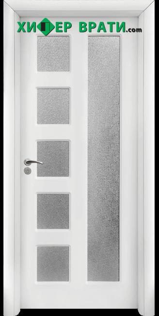 Интериорна врата модел 048, цвят Бял