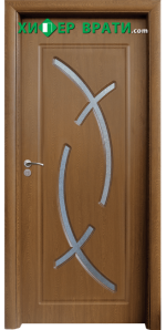 Интериорна врата модел 056, цвят Златен дъб