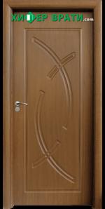 Интериорна врата модел 056-P, цвят Златен дъб