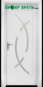 Интериорна врата модел 056, цвят Бял