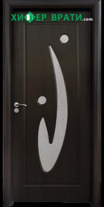 Интериорна врата модел 070, цвят Венге