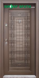 Блиндирана входна врата модел Т-684