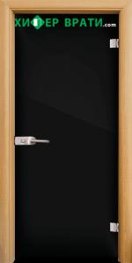 Стъклена интериорна врата модел Folio G 15-2, каса Светъл дъб