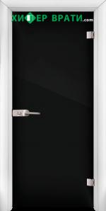 Стъклена интериорна врата модел Folio G 15-2, каса Бяла
