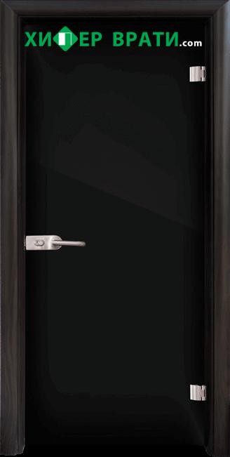 Стъклена интериорна врата модел Folio G 15-2, каса Венге