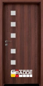 Интериорна врата модел Gradde Reichsburg, цвят Шведски дъб