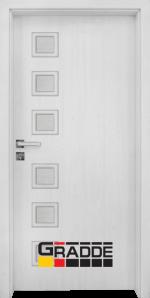 Интериорна врата модел Gradde Reichsburg, цвят Сибирска Лиственица