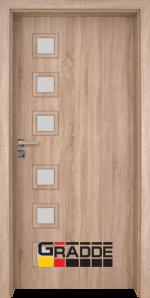 Интериорна врата модел Gradde Reichsburg, цвят Дъб Вераде