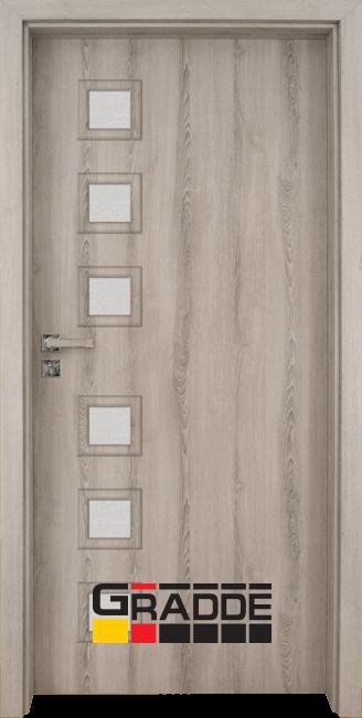 Интериорна врата модел Gradde Reichsburg, цвят Ясен Вералинга