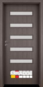 Интериорна врата модел Gradde Schwerin, цвят Череша Сан Диего