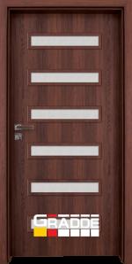 Интериорна врата модел Gradde Schwerin, цвят Шведски дъб