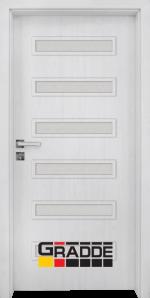 Интериорна врата модел Gradde Schwerin, цвят Сибирска Лиственица