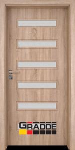 Интериорна врата модел Gradde Schwerin, цвят Дъб Вераде