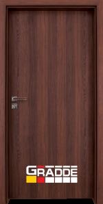 Интериорна врата модел Gradde Simpel, цвят Шведски дъб
