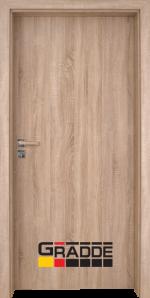 Интериорна врата модел Gradde Simpel, цвят Дъб Вераде