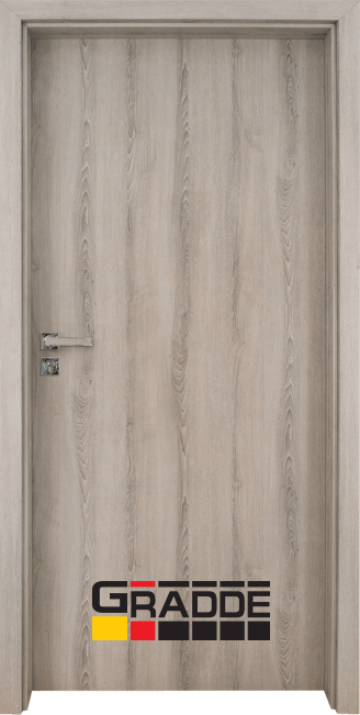 Интериорна врата модел Gradde Simpel, цвят Ясен Вералинга