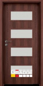 Интериорна врата модел Gradde Blomendal, цвят Шведски дъб