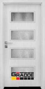 Интериорна врата модел Gradde Blomendal, цвят Сибирска Лиственица