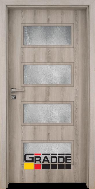 Интериорна врата модел Gradde Blomendal, цвят Ясен Вералинга