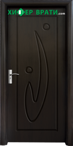 Интериорна врата модел 070-P, цвят Венге
