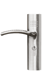 """Дръжки 2бр. тип """"цяла"""" за интериорна врата от серия Стандарт"""