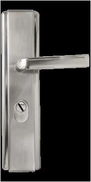 дръжки за метална врата Комфорт