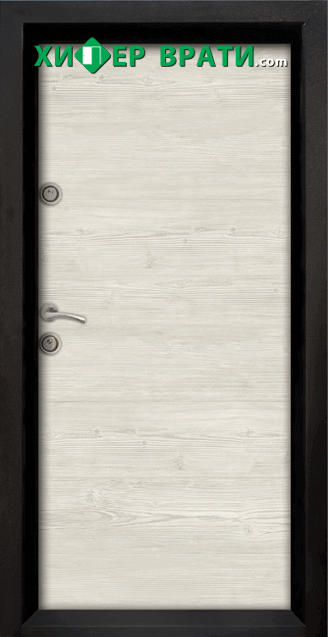 Блиндирана входна врата модел Ale Door 402, цвят Sunta