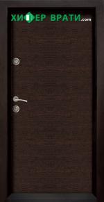 Блиндирана входна врата модел Ale Door 403, цвят Wenge