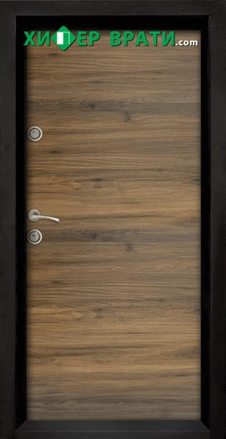 Блиндирана входна врата модел Ale Door 404, цвят Napoli
