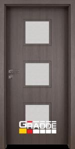 Интериорна врата модел Gradde Bergedorf, цвят Череша Сан Диего