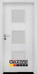Интериорна врата модел Gradde Bergedorf, цвят Сибирска Лиственица
