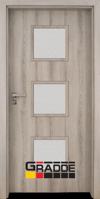 Интериорна врата модел Gradde Bergedorf, цвят Ясен Вералинга