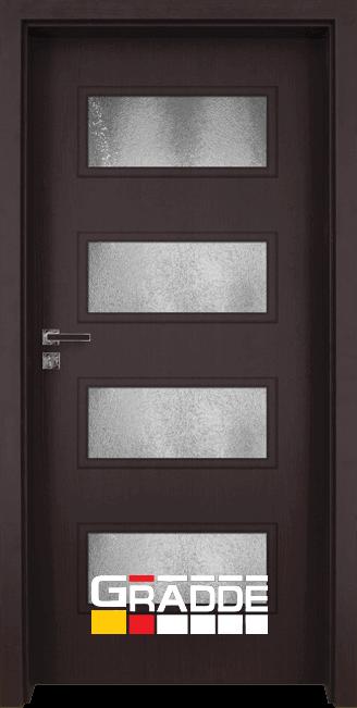 Интериорна врата модел Gradde Blomendal, цвят Орех Рибейра