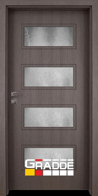 Интериорна врата модел Gradde Blomendal, цвят Череша Сан Диего