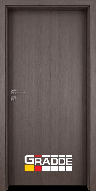 Интериорна врата модел Gradde Simpel, цвят Череша Сан Диего