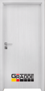 Интериорна врата модел Gradde Simpel, цвят Сибирска Лиственица