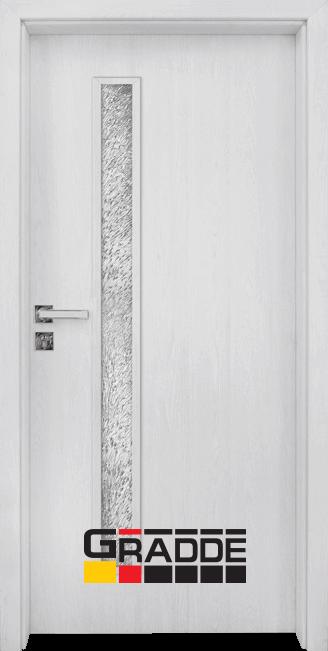 Интериорна врата модел Gradde Wartburg, цвят Сибирска Лиственица