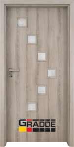 Интериорна врата модел Gradde Zwinger, цвят Ясен Вералинга