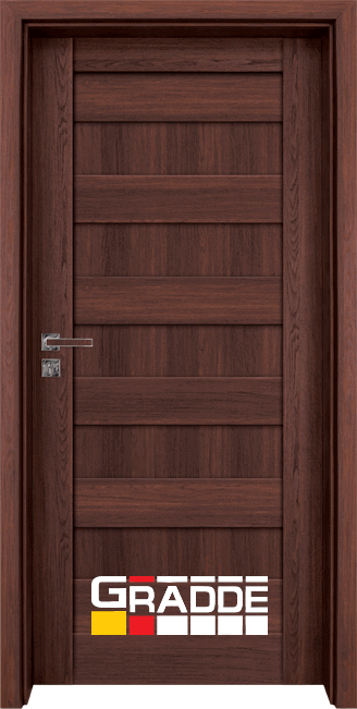 Интериорна врата Gradde Aaven Voll, цвят Шведски Дъб