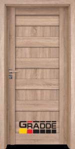 Интериорна врата Gradde Aaven Voll, цвят Дъб Вераде