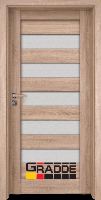 Интериорна врата Gradde Aaven Glas, цвят Дъб Вераде