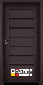 Интериорна врата Gradde Axel Voll, цвят Орех Рибейра